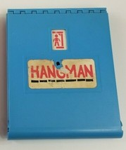 Vintage 1976 HANGMAN Board Game BLUE REPLACEMENT BOARD ONLY with Letters - $9.49