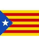 Catalan Flag vinyl sticker decal 12x8cm car window self cling bumper Cat... - $3.25+