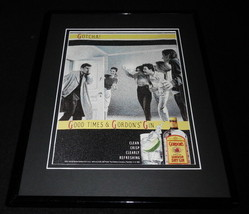 1990 Gordon's Gin 11x14 Framed ORIGINAL Vintage Advertisement - $32.36