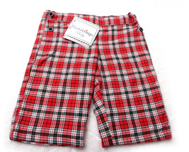 HARTSTRINGS TODDLERS PANTS Lined Flannel Size 0-3 months Plaid  NWT  - $26.99