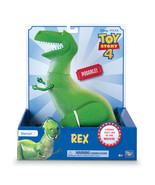 Disney Pixar Toy Story 4 Movie Film Posable Rex The Dinosaur Figurine EX... - $59.29