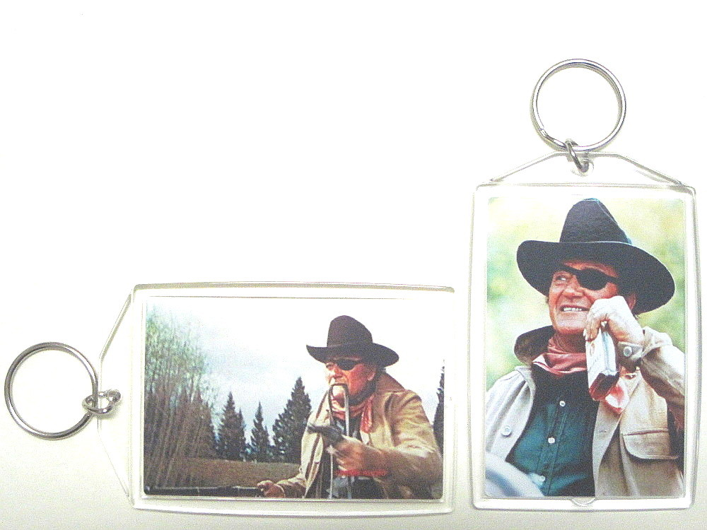 Rooster cogburn true grit keychain to post