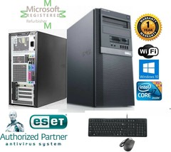 Dell 790 TOWER i7 2600 Quad  3.40GHz 8GB 500GB SSD + 1TB Storage Win 10 Pro 64 - $945.18