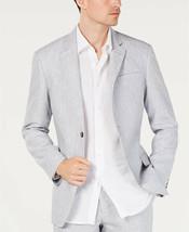 Tasso Elba Mens Sport Coat 2 Button Blazer Size XXL Grey $119.50 - NWT - $49.49