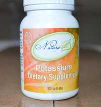 IDEAL PROTEIN NATURA POTASSIUM 99 MG 60 TABLETS SUPPLEMENTS - $20.99
