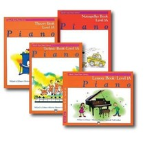 Alfred Basic Piano Library Course Pack Level 1A - Four book set includes... - $33.12