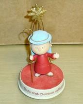 Hallmark Peanuts -LINUS -Christmas figurine - EX - $10.88