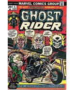 Ghost Rider Comic Book #6, Marvel Comics 1974 NEAR MINT - $48.29