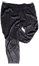 "c3618f2eac438 LANE BRYANT Womens PANTS size 18/20 Inseam 28"" Black Rayon NEW NWOT -"