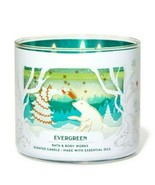 Bath & Body Works Evergreen 3 Wick Scented Candle 14.5 oz - $27.10