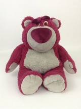 "Lotso Huggin Strawberry Bear 14"" Plush Disney Store Toy Story 3 Stuffed ... - $17.77"