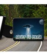 UFO  ABDUCT ME PLEASE  new Trailer Hitch Cover Plug - $17.09