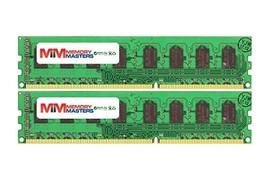 MemoryMasters 8GB (2x4GB) DDR3-1600MHz PC3-12800 ECC UDIMM 1Rx8 1.5V Unbuffered  - $54.44