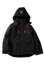 IZOD Brand New Boys Jacket Soft Shell Zipfront Hooded Kids Parka Black S... - $26.11