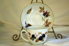 Royal Worcester 2015 Evesham Gold Cup And Saucer Set 6 oz. - $6.29