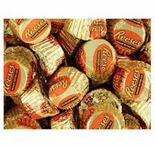 Gold & Orange Mini Reese's Peanut Butter Cups Candy Bulk - $22.30+