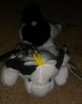 "Brand New 1990's Vintage Bean Sprouts ""Bossie"" COW Rare Beanie Keychain - $11.87"