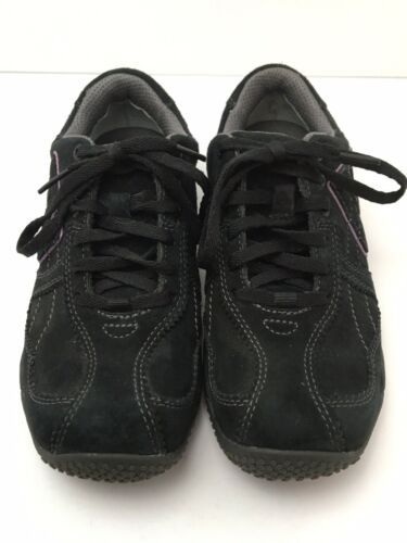 Merrell Womens US 6.5 Shoes Circuit Grid Comfort Black Suede Leather EU37 EUC image 10