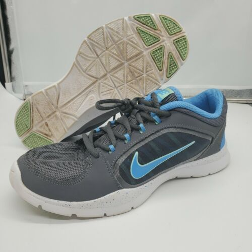 Nike Training Sneakers Gray and Blue 2014643083-005 Women's Size 8 - $24.74