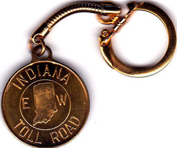 Key Ring For Indiana Toll Roads - $4.99