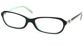 Tiffany & Co. Tf 2034 8055 Black Eyeglasses Frame 51-16-135 B30 Italy - $123.74
