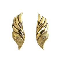 Vintage Gold Tone Oscar de la Renta Earring Clips - $30.00