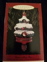 VINTAGE HALLMARK KEEPSAKE ORNAMENT PEEK - A- BOO TREE DATED 1993 - $6.44
