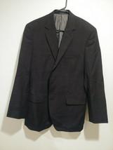 Calvin Klein Suit Coat Jacket Mens 42L Wool Black - $20.00