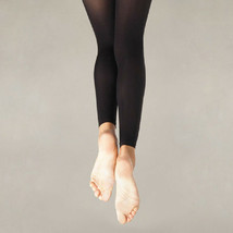 Body Wrappers A33X Black Women's Plus Size 3X-4X Footless Tights - $13.36