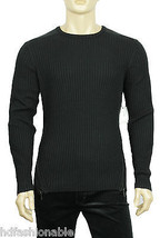 NEW MENS CALVIN KLEIN CK ONE CREW NECK RIBBED KNIT PULLOVER SWEATER L $108 - $44.99