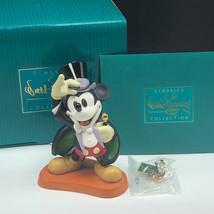 WDCC FIGURINE DISNEY figurine box coa Mickey Mouse on with show pin magi... - $79.20