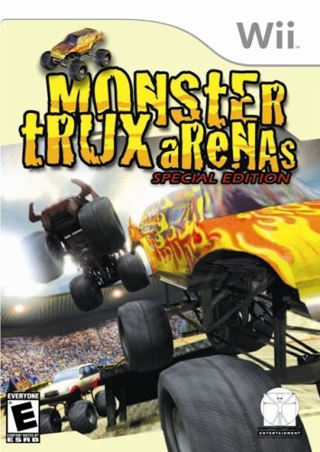 Monster Trux Arenas - Nintendo Wii [video game]