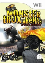 Monster Trux Arenas - Nintendo Wii [video game] - $7.99