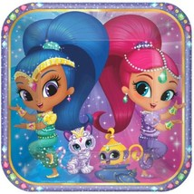 "Shimmer and Shine 8 9"" Lunch Plates Birthday Party - $5.22"