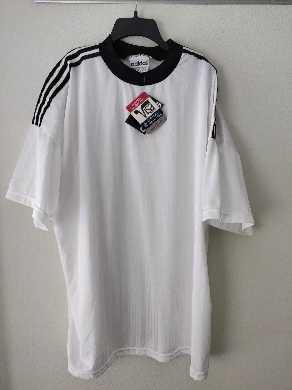 02cd825b459 Vintage ADIDAS NWT Deadstock Mens Soccer and 50 similar items. 57