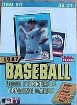 1987 Fleer Baseball Card Hobby Box - $87.95