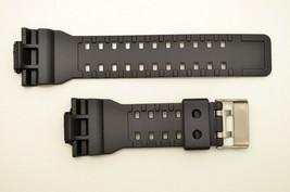 Black Watch Band FITS Casio G-Shock  GA-100 GA-150 GA-110C G-8900 GA120  - $13.45