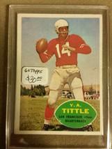 1960 Topps #113 Y.A.Tittle : San Francisco 49ers - B - $21.80