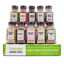Organic 10 Spice Gift Set: Seasoned Salts - $49.99