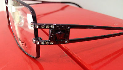 a29779703519 ... VERSACE MOD. 1092-B PURPLE 1178 METAL EYEGLASSES FRAME STORE DISPLAY  W STONES