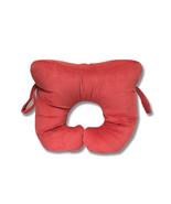 Original Bones - Collar Bone Pillow - Red - Velour - $26.99