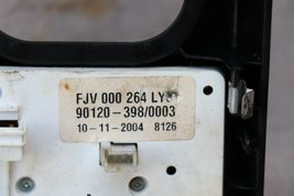 03-06 Range Rover Console Control Switch Panel Terrain FJV000264LYU image 12