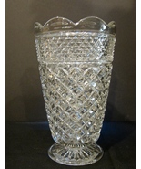 Anchor Hocking Wexford Pattern Large Vase ca. 1960 - $9.99