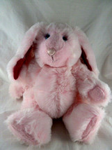 """Handmade Vintage Pink Easter Bunny Rabbit 15"""" Fully Jointed Firm Designe... - $49.49"""