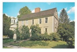 MA Deerfield Wells Thorn House Vintage Walter H Miller Massachusetts Pos... - $4.99