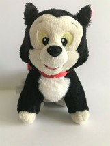 "Disney Store Pinocchio Figaro 9"" Plush Stuffed Black Cat Kitten - $13.09"