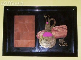 """EAMES ERA MID CENTURY MODERN- COUROC """"AND THOU"""" CHEESEBOARD TRAY 15"""" x 1... - $39.95"""