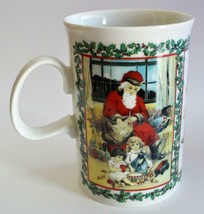 DUNOON ~ Victorian Prints ~ Christmas Holiday ~ Coffee Cup Mug Made In S... - $19.95