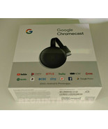 Google Chromecast 3rd Gen Digital HDMI Media Streaming (NEWEST VERSION) NEW - $58.36