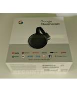 Google Chromecast 3rd Gen Digital HDMI Media Streaming (NEWEST VERSION) NEW - $58.36